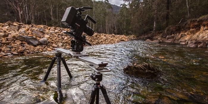 Trost slider in the Cotter River