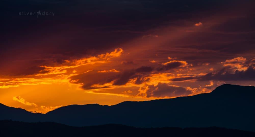 summer sunset - Mt Wanniassa